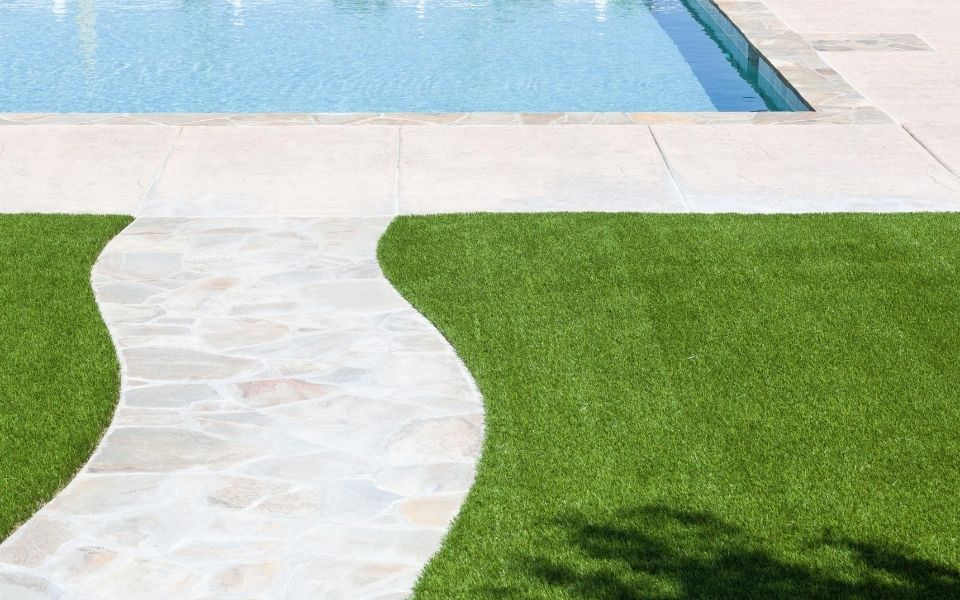 Astro Turf by Pool