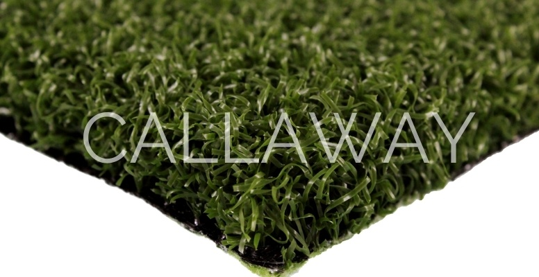 Closeup of CallawayLawn Pro Putt 50 CLPP golf turf
