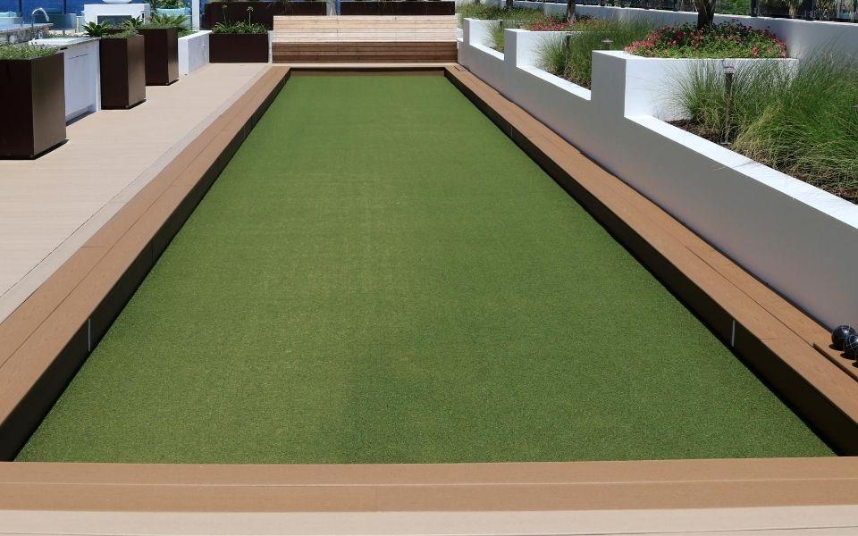 Custom Bocce Ball Court