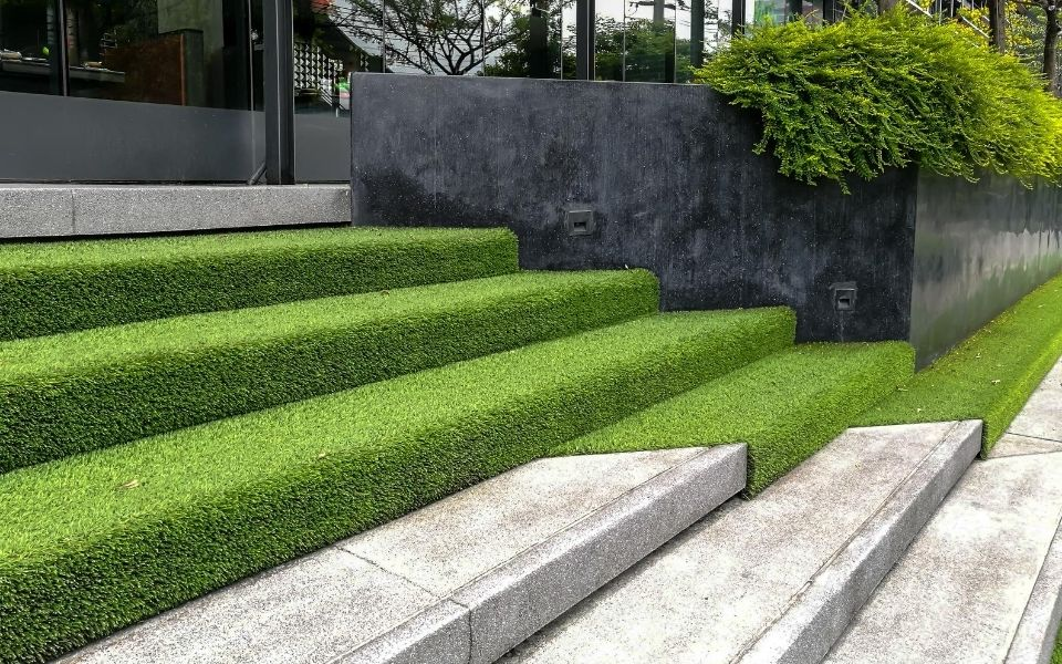 Landscaping with Fake Grass