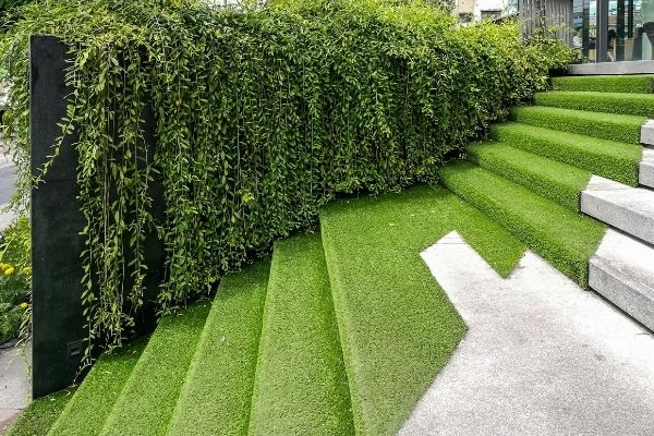 Turf Covered Stairs